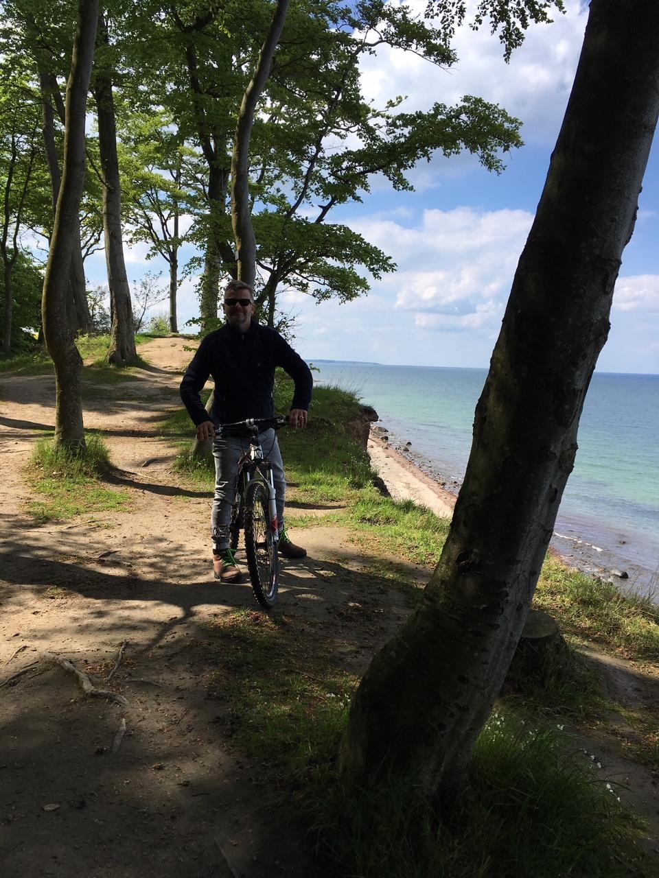 Gut Friederikenhof - Fahrradtour entlang der Steilküste