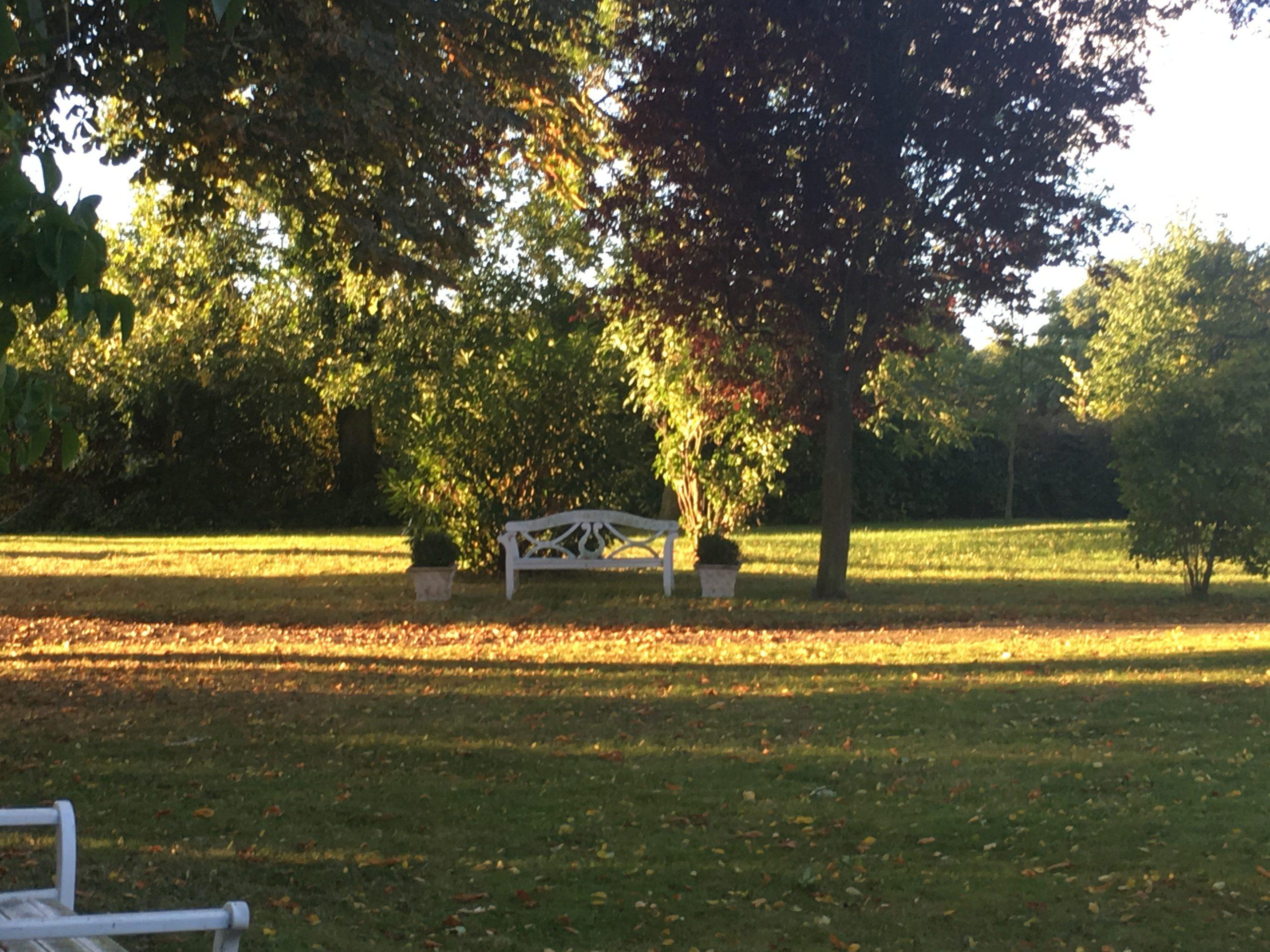 Gut Friederikenhof - ruhige Plätze inmitten der Herbstlandschaft