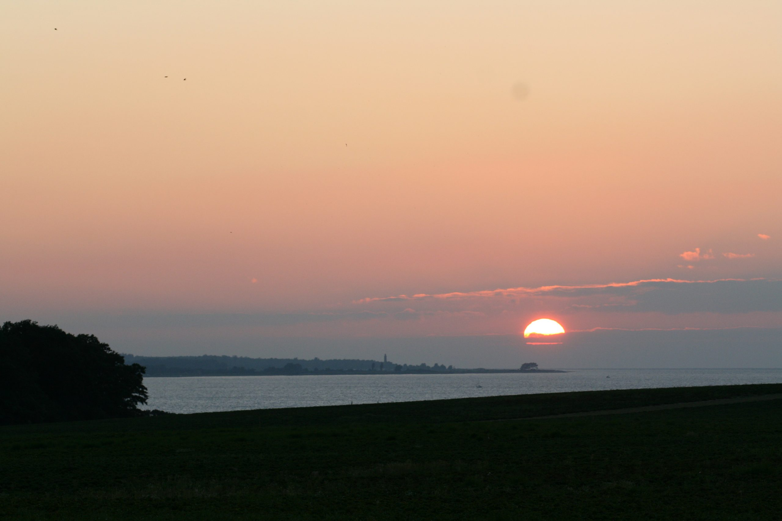 Gut Friederikenhof - Sonnenuntergang in Ostholstein