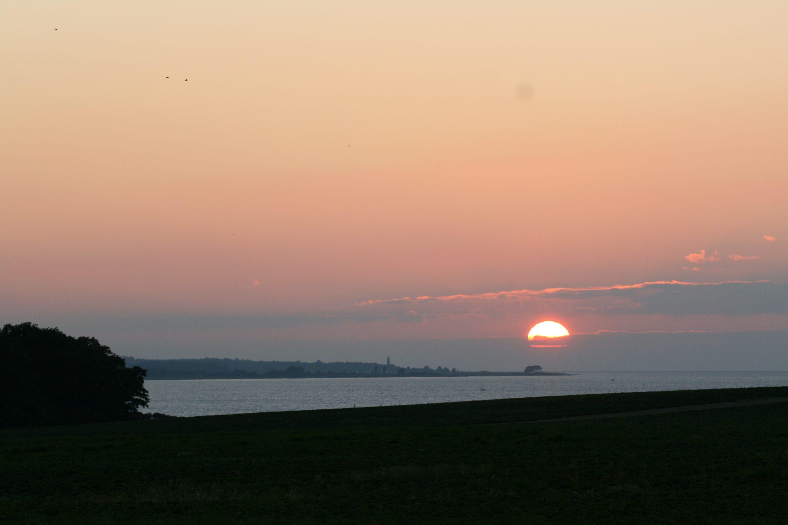 Gut Friederikenhof - Sonnenuntergang in Ostholstein