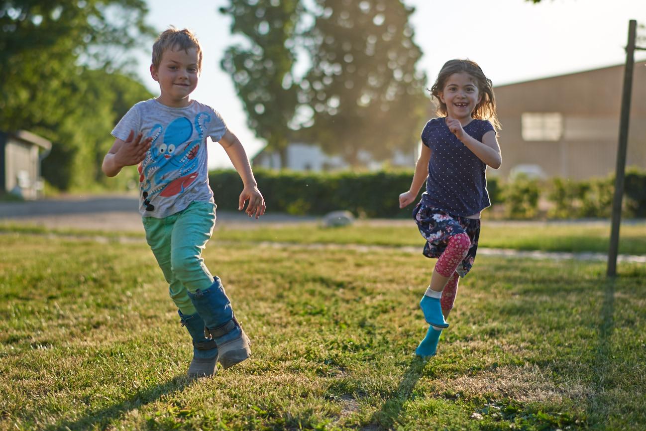 Gut Friederikenhof - die Kinder fühlen sich Wohl