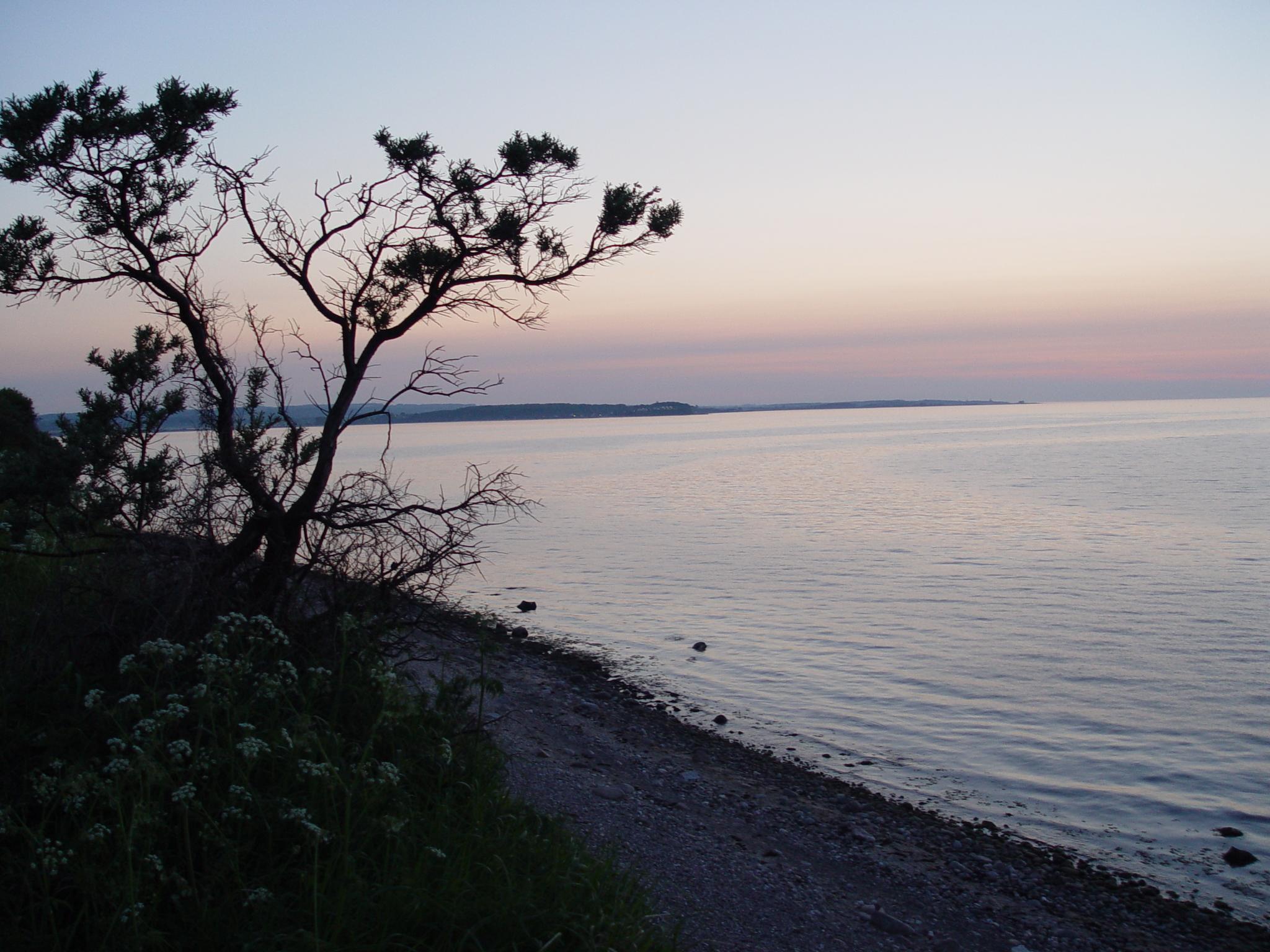 Gut Friederikenhof - Sonnenuntergang von der Steilküste aus genießen