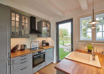 Stellmacherei - Küche mit Kochinsel
